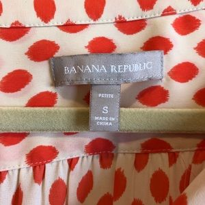 Banana republic work blouse